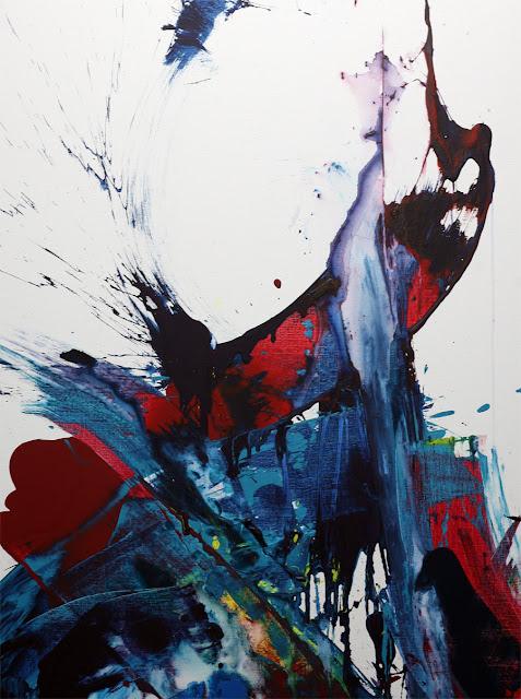 Artiste peintre contemporain jean baptiste besançon abstraction