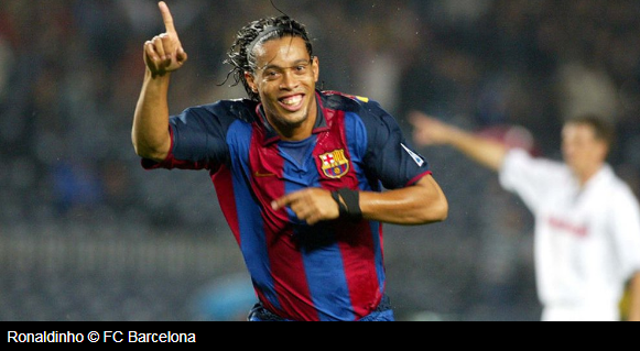 "alt="" Ronaldinho called the England national team currently filled with talented players and believes the Three Lions"""