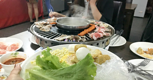 Unlimited Korean BBQ Dinner, Grill and Shabu Shabu for only P499