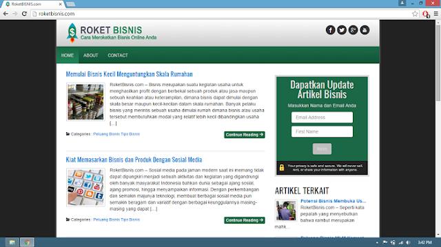 website roketbisnis.com