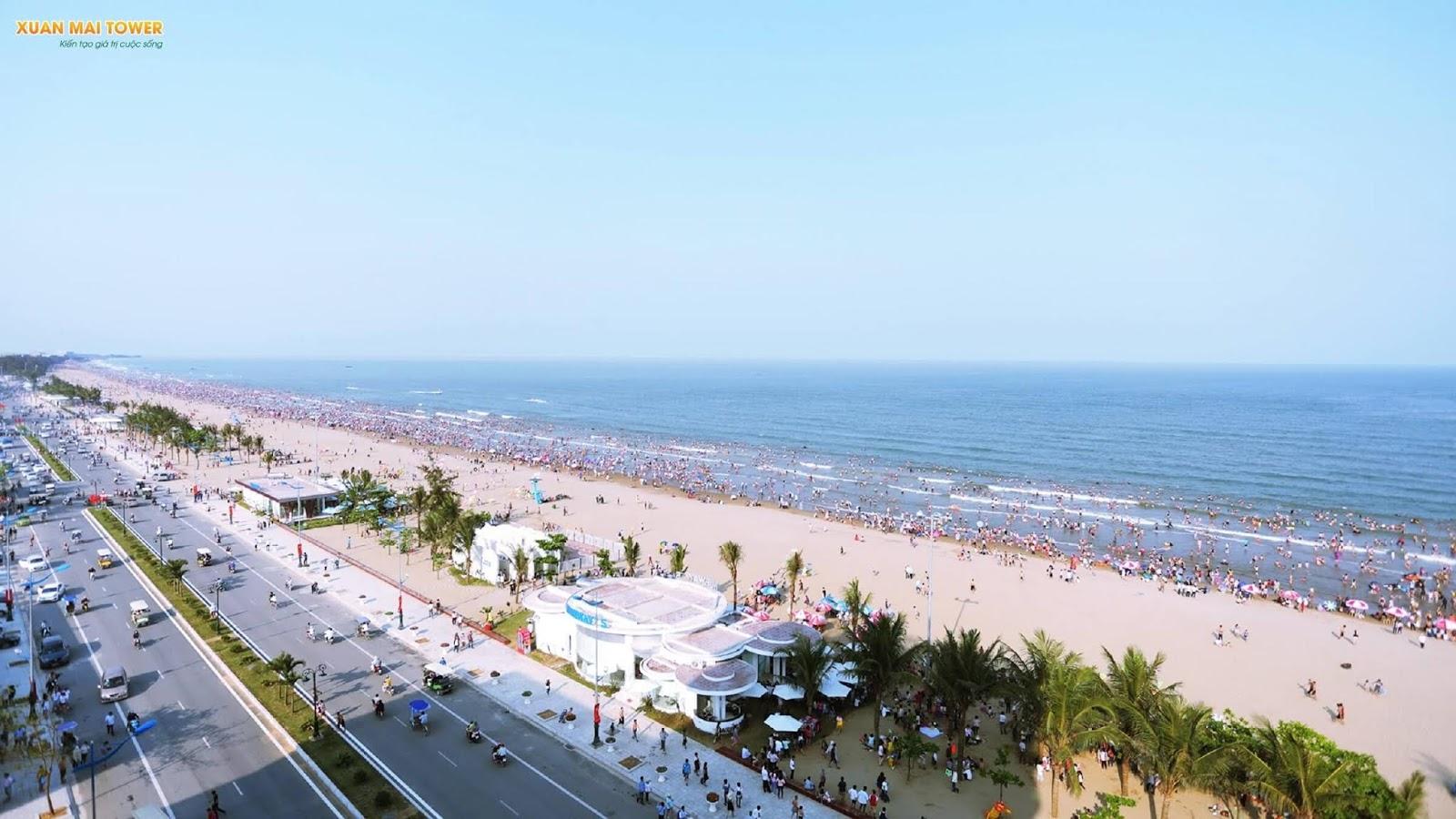 Bãi biển Sầm Sơn Thanh Hoá