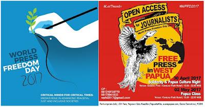 Ironi WPFD 2017 : Standar Ganda Kebebasan Pers di Indonesia