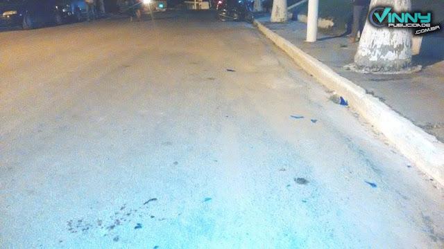 Local do acidente (Foto: Vinícius Silva/Vinny Publicidade).
