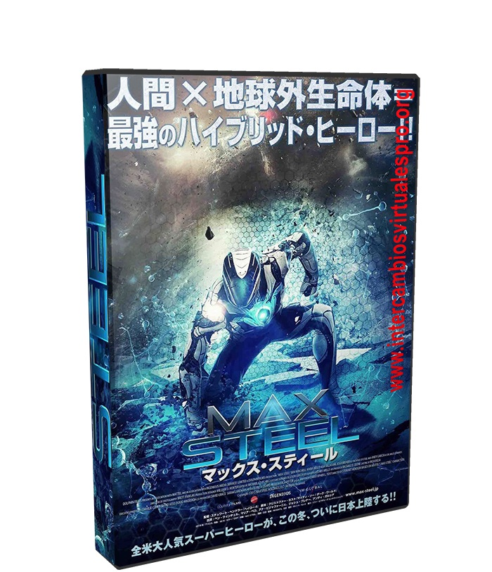 Max Steel poster box cover