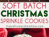 Soft Batch Christmas Sprinkle Cookies