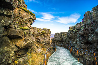 Tectonic Plates in Pingvellir National Park
