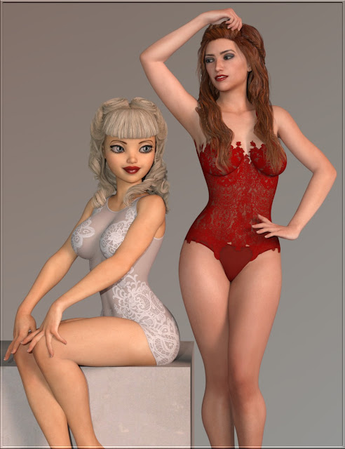 Sexy Skinz - Boudoir for Genesis 8 Female and Genesis 3 Female