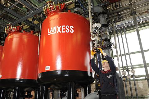 Pabrik Lanxess Jerman