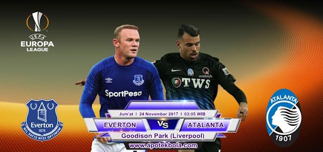 Everton vs Atalanta 24 November 2017