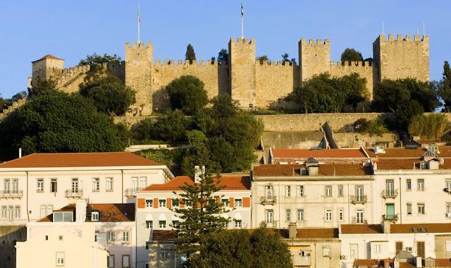 Entrada ao Castelo de São Jorge em Lisboa