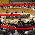 قاعة مجلس الأمن على شكل G الرمز الماسوني  [ #السعودية #قطر #تركيا ]