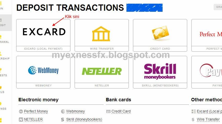 cara deposit excard 2 exness malaysia