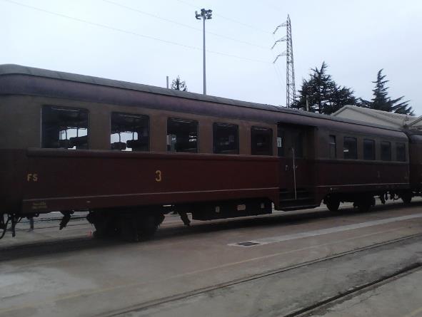 vagone ristorante treno storico la spezia