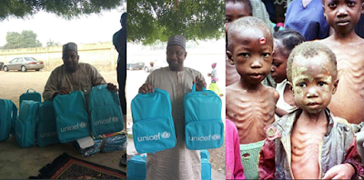 Free UNICEF School Bags Meant For IDP Kids, Reportedly Sold In Kano State (Photos)