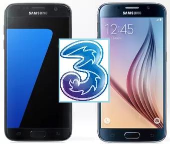 Offerte per Galaxy S6 e S7 con Tre a Rate: Prezzo con Tariffa ...