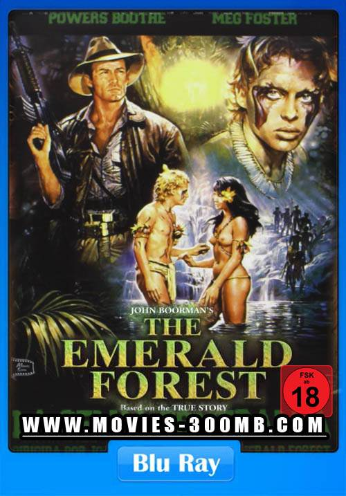 Emerald Forest 1985 Dual Audio 300MB Poster