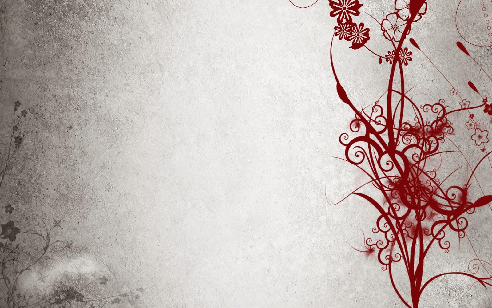 Imagenes Abstractas En Hd Para Descargar: Fondo De Pantalla Abstracto Flor Roja