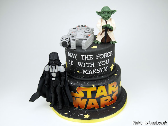 bday cakes star wars london