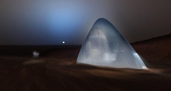 NASA menyelenggarakan Kontes Kreativitas rumah masa depan di MARS