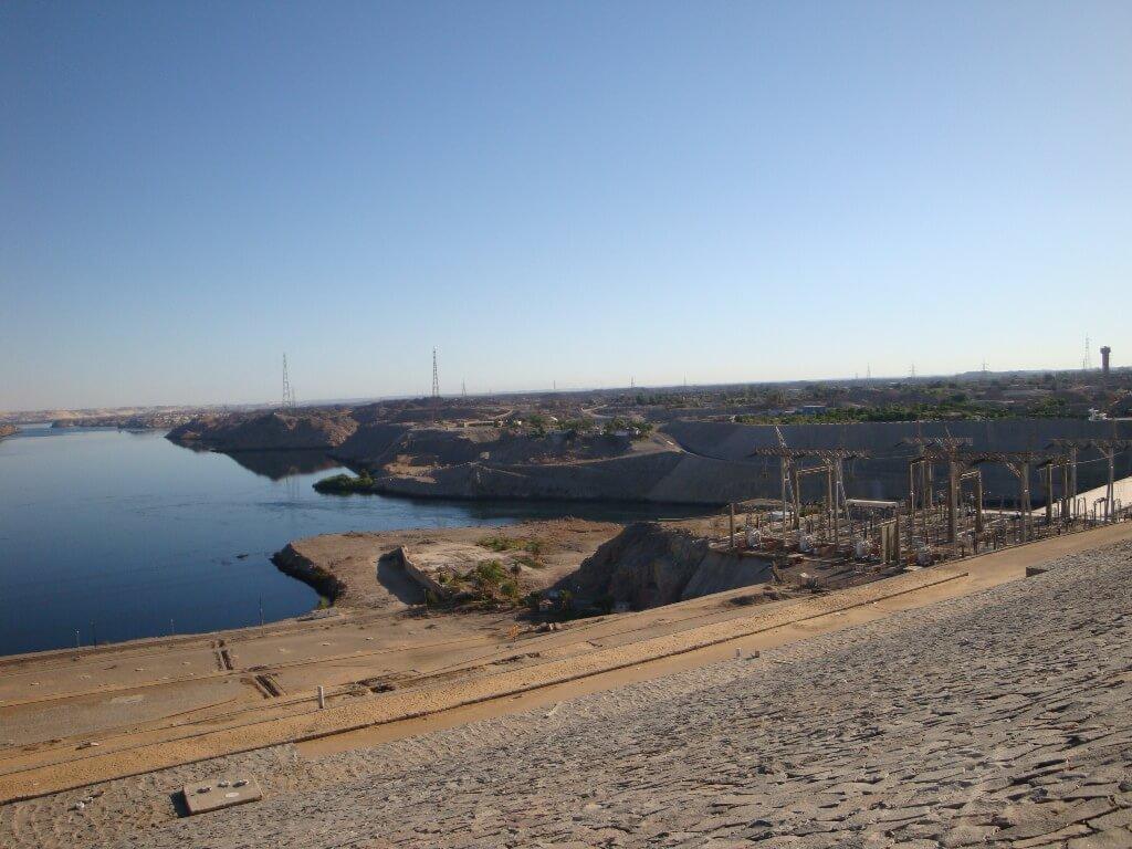 Represa de Assuã no Egito