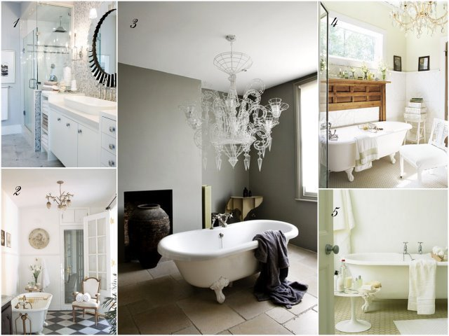 Dream Bathroom collage