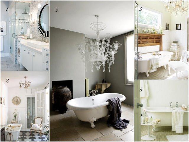 Dream Bathroom collage
