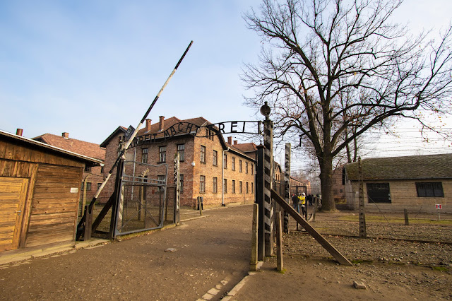 Ingresso Campo di concentramento di Auschwitz