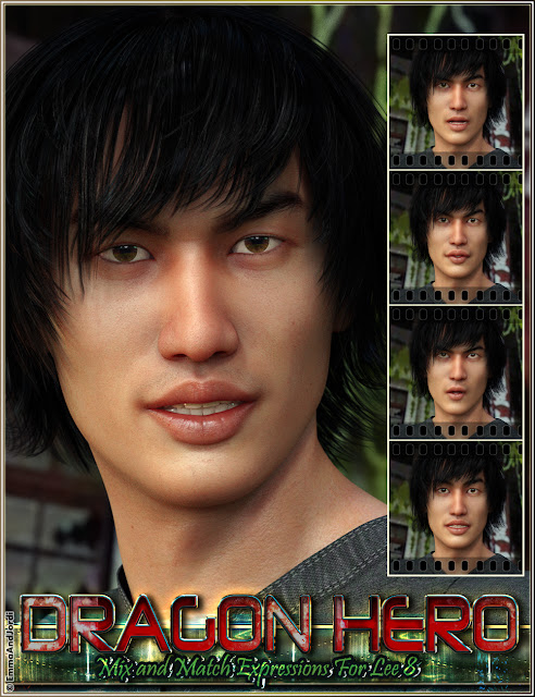 https://www.daz3d.com/dragon-hero-mix-and-match-expressions-for-lee-8-and-genesis-8-males