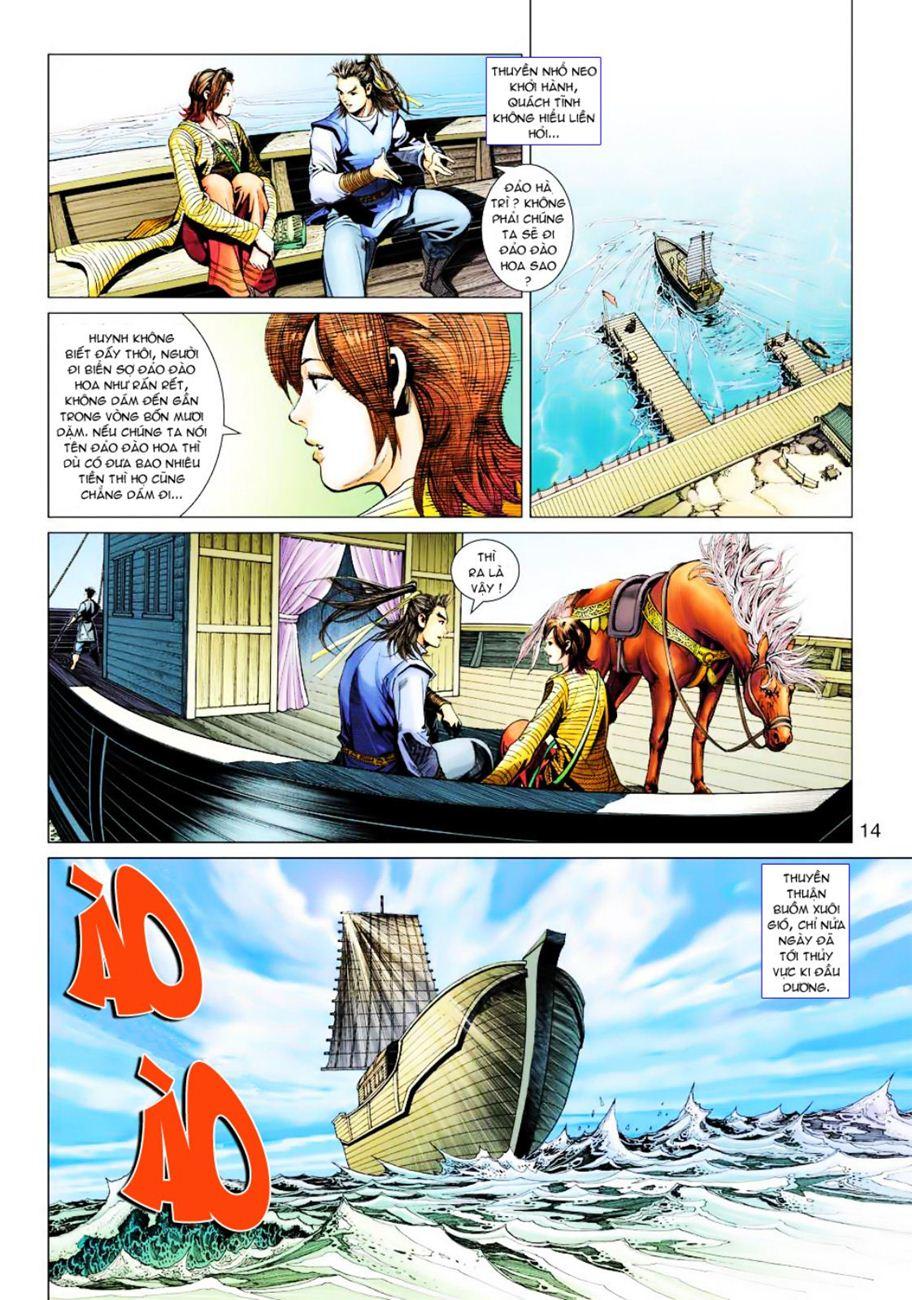 Anh Hùng Xạ Điêu anh hùng xạ đêu chap 39 trang 14