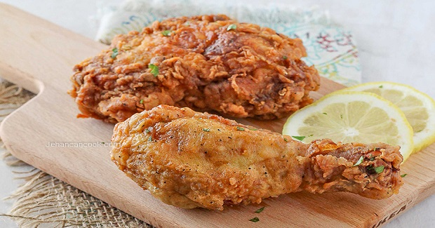 Caribbean Fried Chicken Recipe