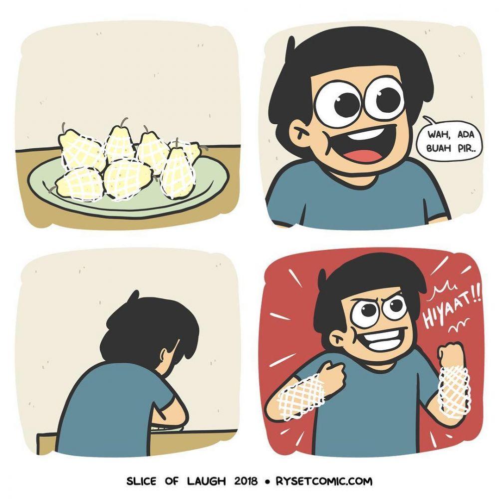 13 Komik Lucu Kehidupan Anak Kecil Sebelum Ada Gad Seru