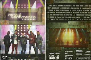 DVD Nosso Sentimento – Liberdade (2013 Oficial)