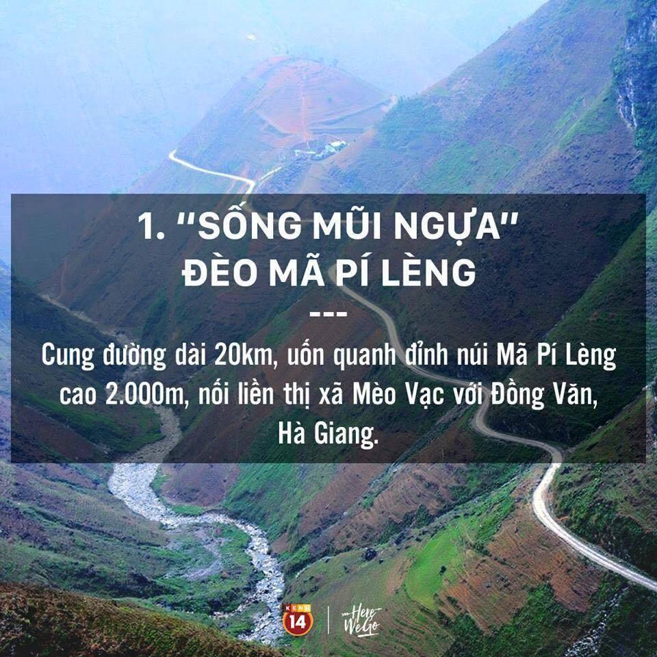 Những cung đèo nổi tiếng Việt Nam