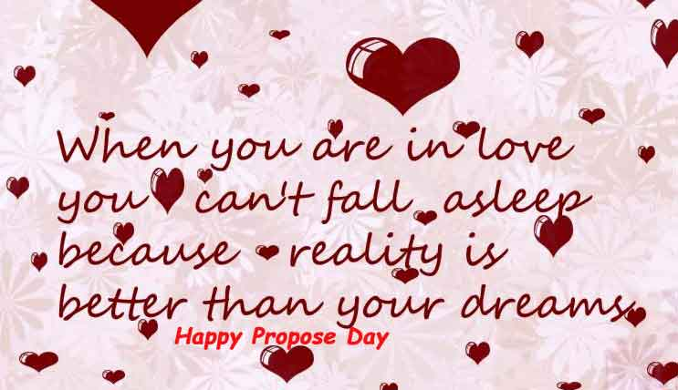 propose day sms for girlfriend