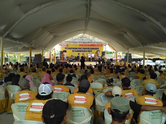 Ulang Tahun Partai Hanura ke 10 dan Pelantikan PAC Se- Kabupaten Pati