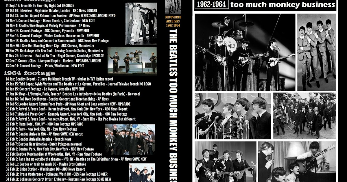 T U B E The Beatles 1962 1964 Recovered Archives