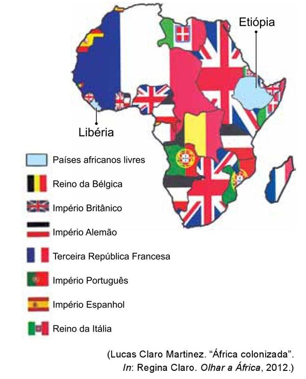 África colonizada