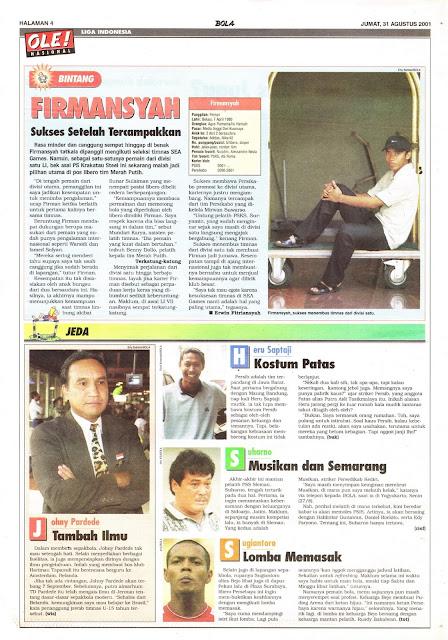 PROFIL BINTANG LIGA INDONESIA FIRMANSYAH