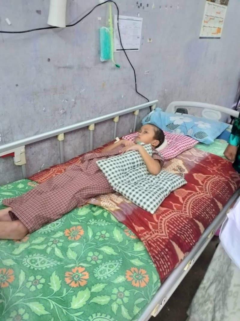 PKRI membantu adik Fakrullah di Serkam, Melaka