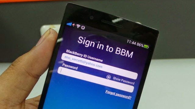 BBM di Android Gingerbread Beta Leak