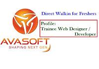 Avasoft-walkin-for-freshers