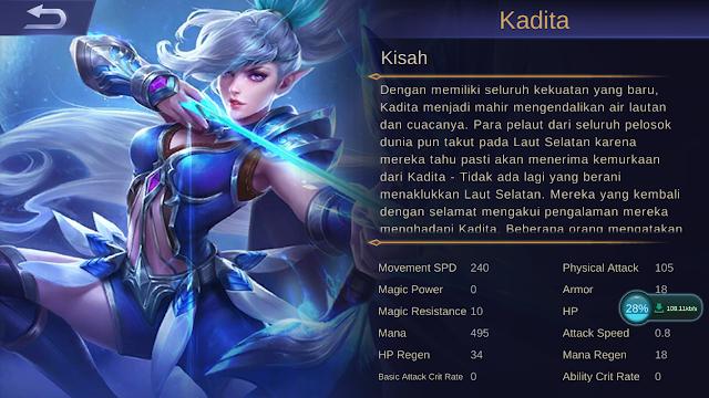 kisah Kadita ML