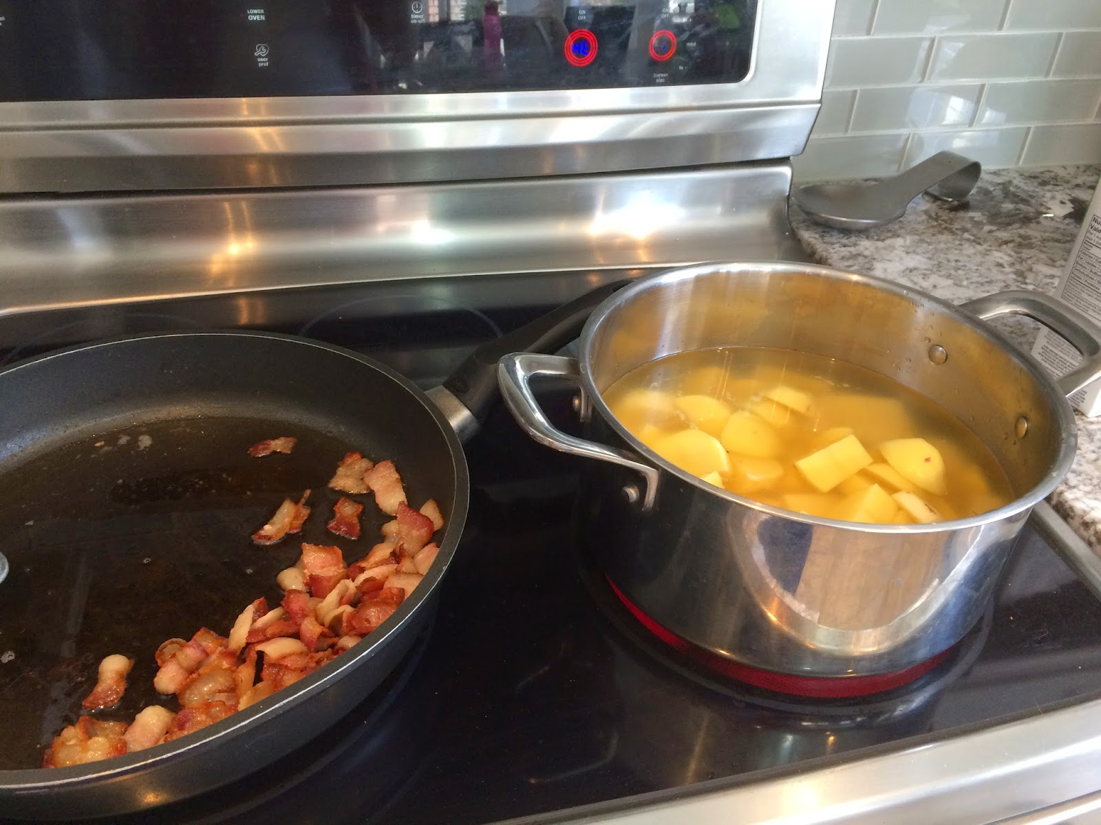 Potato, Leek and Bacon Soup