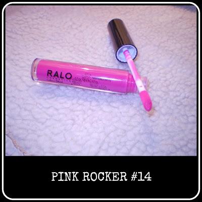 Pink Rocker lipgloss