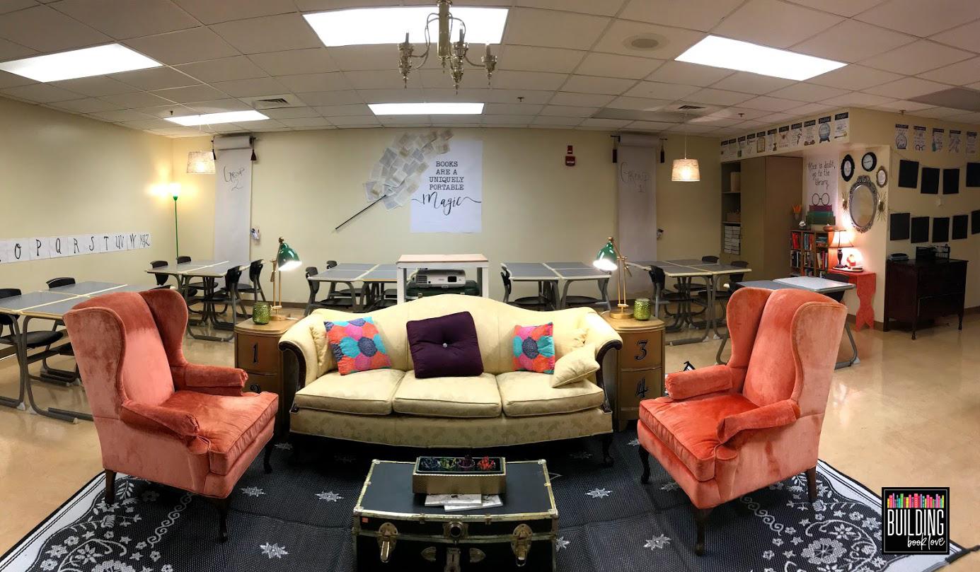 Building Book Love : High School Classroom Decor: Semi ...