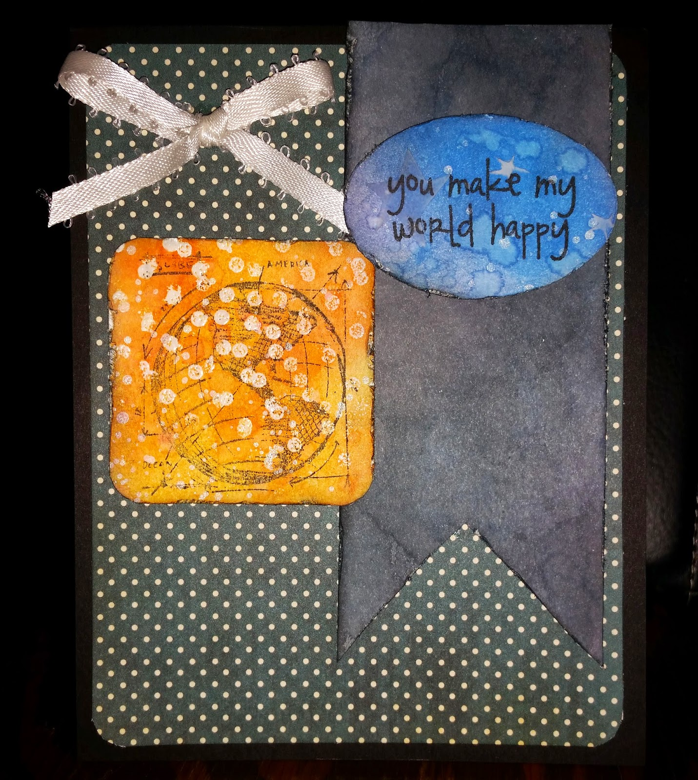 You Make My World Happy - Distressed, Tim Holtz