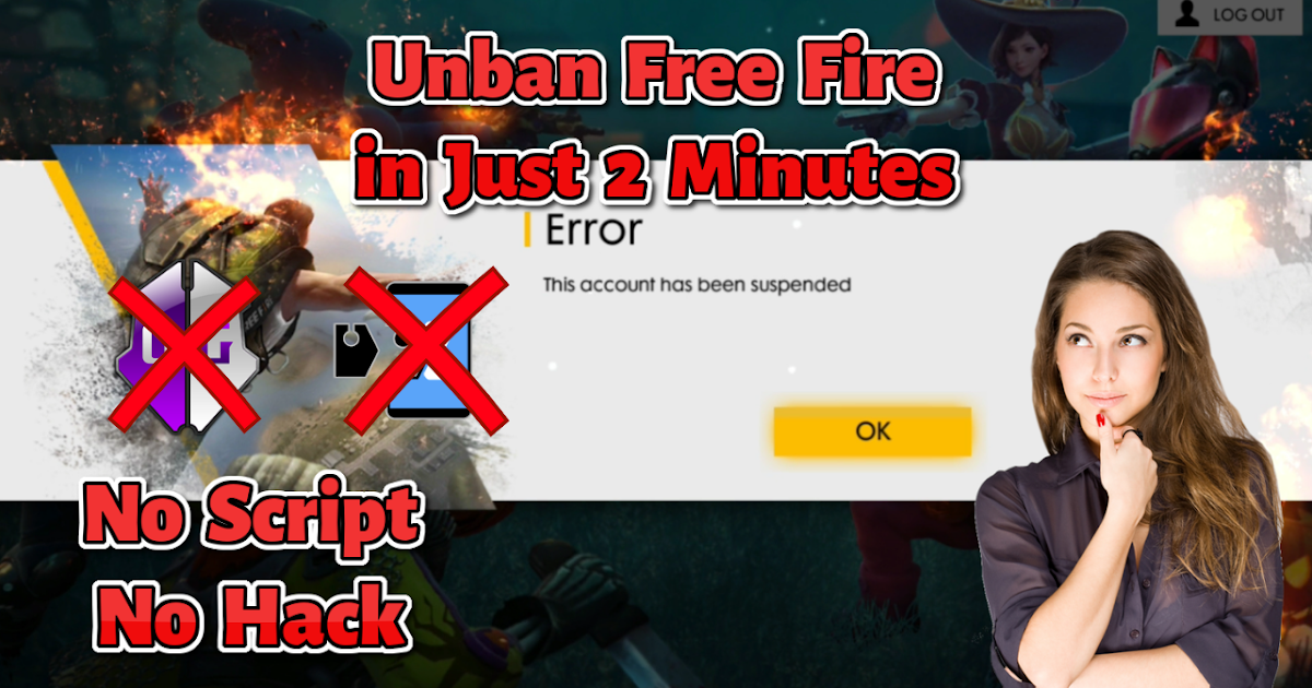 Unban Free Fire in Just 1 Min [100% Working] - Follow the steps to