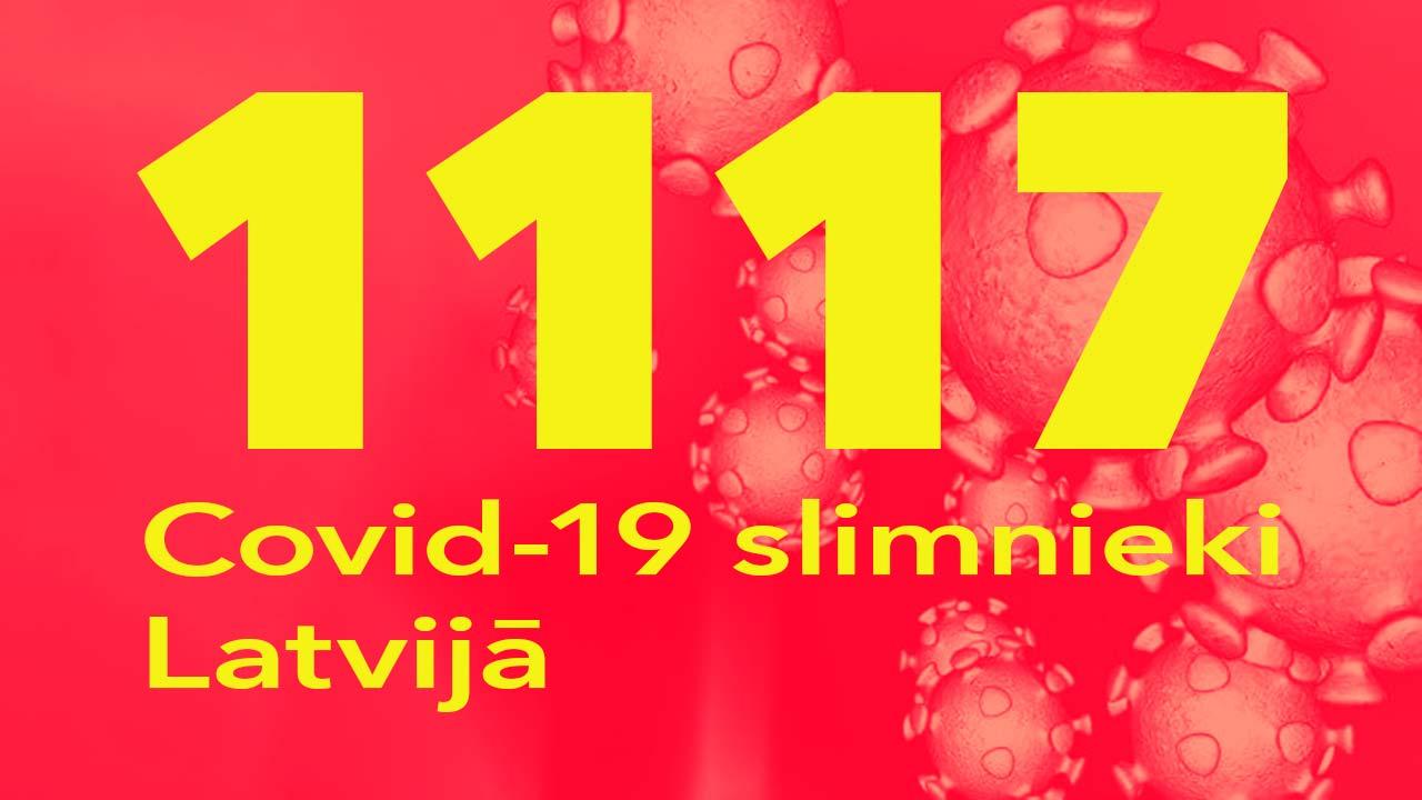 Koronavīrusa saslimušo skaits Latvijā 29.06.2020.