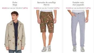ropa para hombre 1 parkas bermudas y pantalones