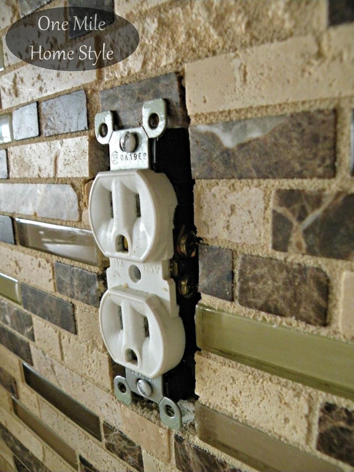 - How To Adjust Outlets After Tiling